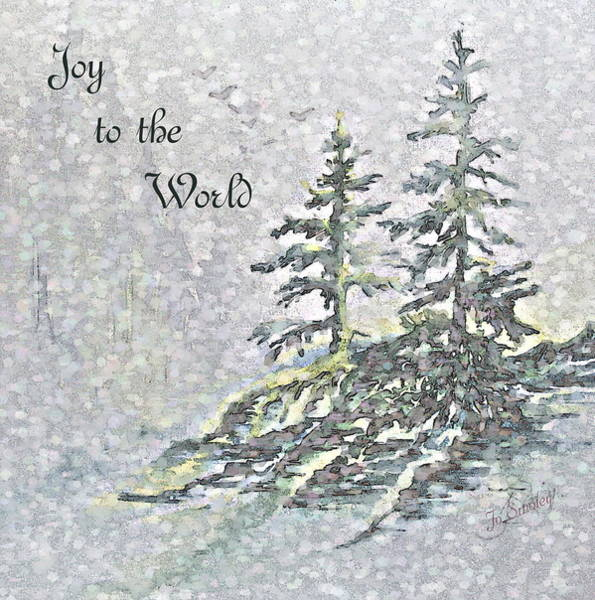 Digital Art - Joy To The World by Joanne Smoley