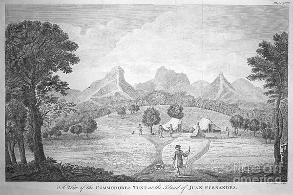 1741 Photograph - Juan Fernandez Islands by Granger