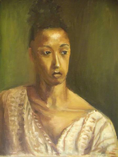 Painting - Judye by Nicolas Bouteneff