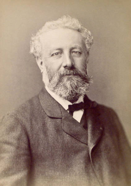 Jules Verne Wall Art - Photograph - Jules Verne, French Novelist by Humanities And Social Sciences Librarynew York Public Library