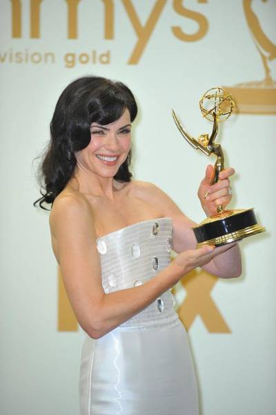 Nokia Photograph - Julianna Margulies In The Press Room by Everett