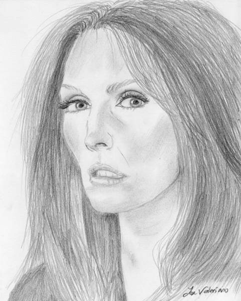 Photograph - Julianne Moore by M Valeriano