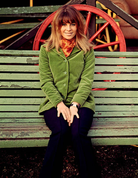 Julie Christie Photograph - Julie Christie On The Set Of Far From by Everett