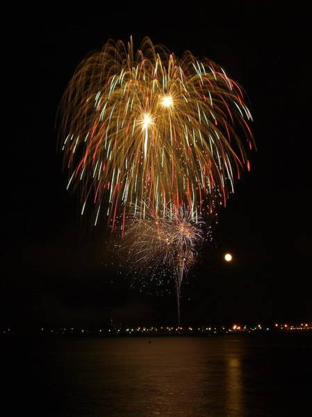 Photograph - July 4 2012  13 by Jeffrey Peterson
