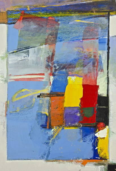 Painting - Jumble Detail 1 by Cliff Spohn
