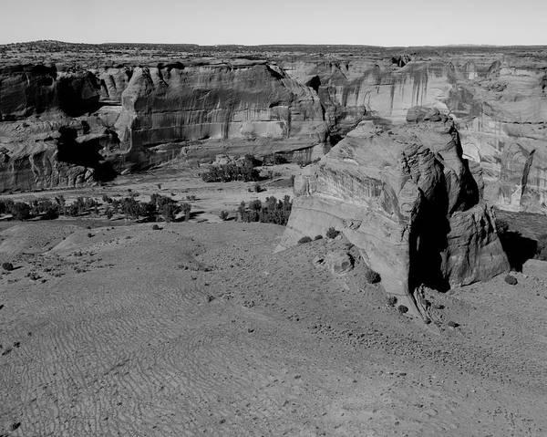 Desert Varnish Photograph - Junction Overlook Canyon De Chelly Az by Troy Montemayor