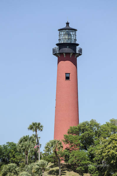 Photograph - Jupiter Inlet Lighthouse by Mike Fitzgerald