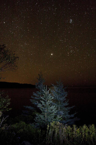 Wall Art - Photograph - Jupiter  Over Otter Point 3 by Brent L Ander