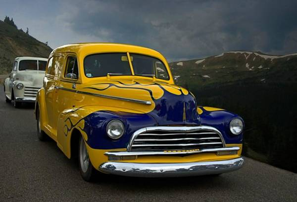 Photograph - Just Follow Me 1948 Chevrolet Sedan Delivery by Tim McCullough