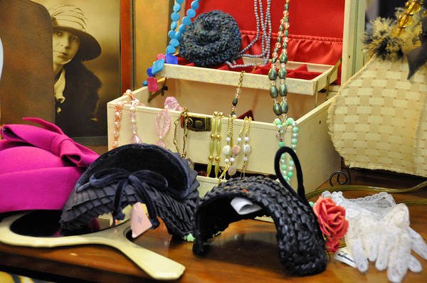 Millinery Photograph - Just Look At My Dressing Table by Jan Amiss Photography