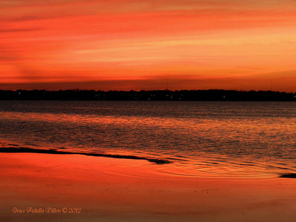 Photograph - Just Past Sunset by Grace Dillon