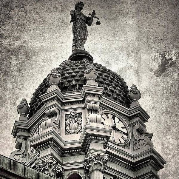 Wall Art - Photograph - Justice & Time - New York by Joel Lopez