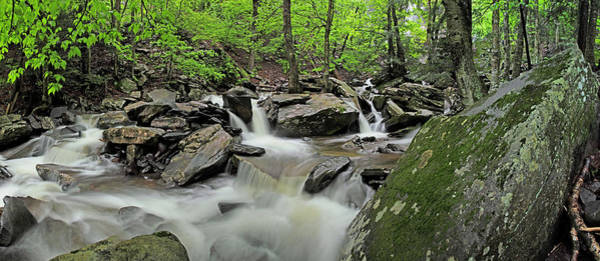 Catskills Photograph - Kaaterskill Creek Panorama by Rick Berk