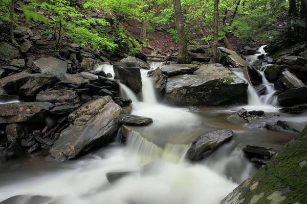 Catskills Photograph - Kaaterskill Creek by Rick Berk