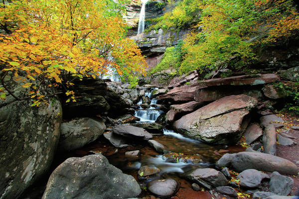 Catskills Photograph - Kaaterskill Fall by Rick Berk