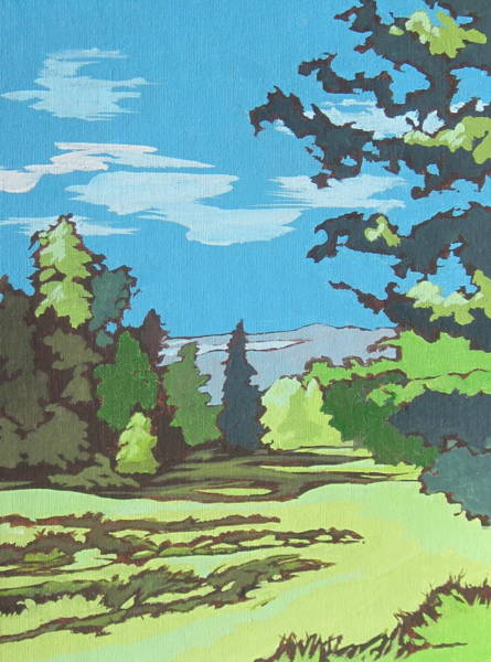 Flagstaff Painting - Kachina Trail 2 by Sandy Tracey