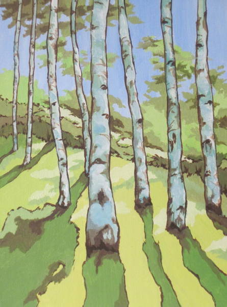 Flagstaff Painting - Kachina Trail by Sandy Tracey
