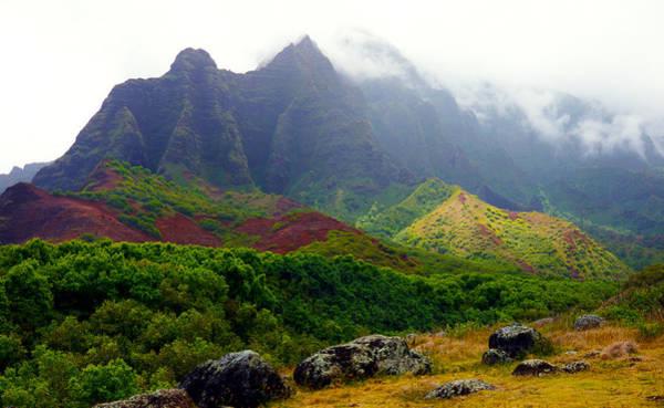 Kalalau Trail Wall Art - Photograph - Kalalau Valley Mist Kauai by Kevin Smith