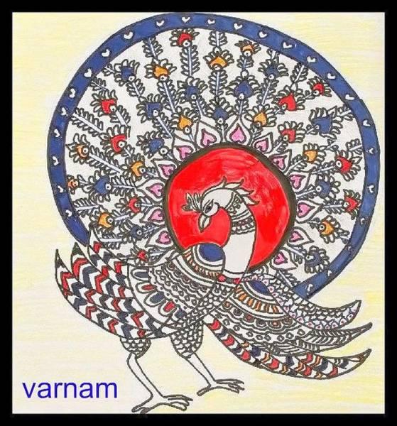 Kalamkari Painting - Kalamkari Painting by Saheli Saheli