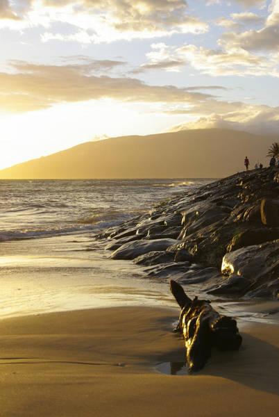 Photograph - Kamaole Beach Magic Light by Marilyn Wilson