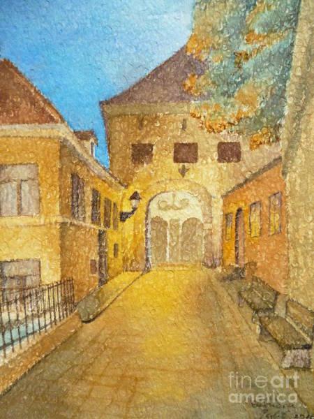 Painting - Kamenita Vrata by Eleonora Perlic