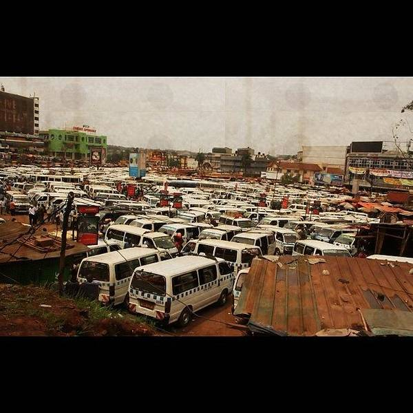 Bus Photograph - Kampala by Julie Nyine