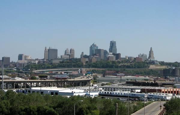 Photograph - Kansas City Skyline by Keith Stokes