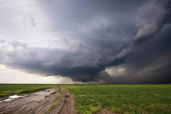 Storm Photograph - Kansas Distant Tornado Vortex 2 by Ryan McGinnis