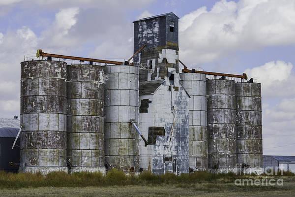 Photograph - Kansas Grain Elevator II by David Waldrop