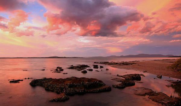 Photograph - Karuha Sunset by Paul Svensen