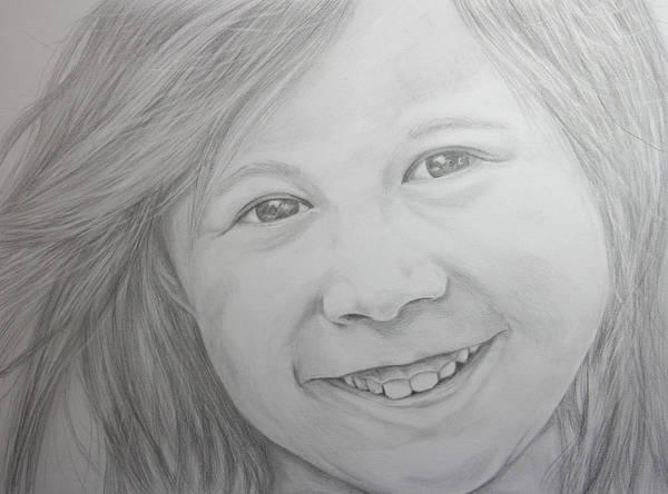 Filipino Drawing - Katie by Daniel Young