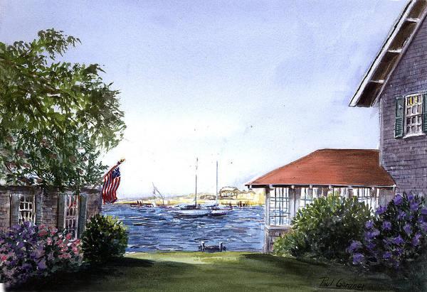 Oak Harbor Painting - Kay's Harbor by Paul Gardner