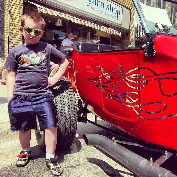 Draw Wall Art - Photograph - #kaysteratthecarshow by Drew Domkus