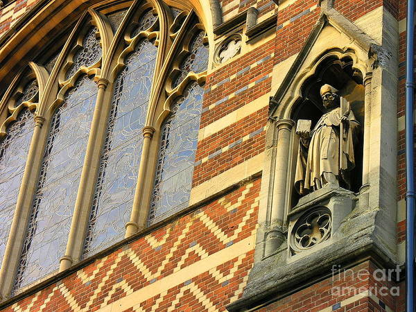 Wall Art - Photograph - Keble College Chapel by Anne Gordon