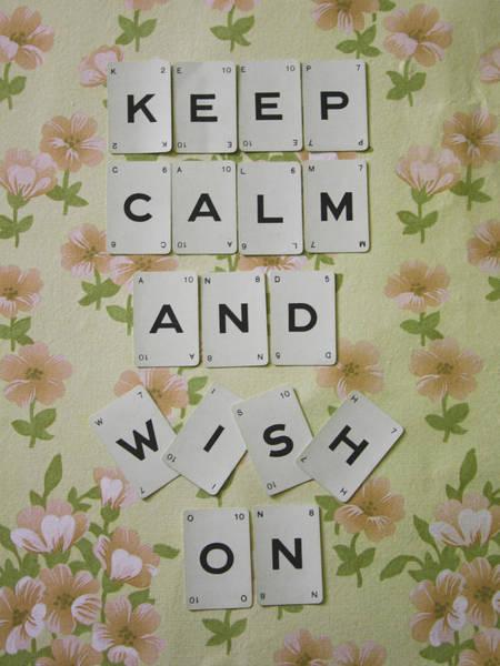 Wall Art - Photograph - Keep Calm And Wish On by Georgia Fowler