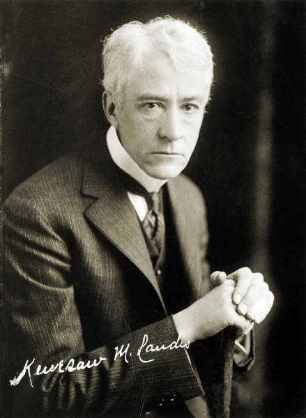 Photograph - Kenesaw Mountain Landis by Granger