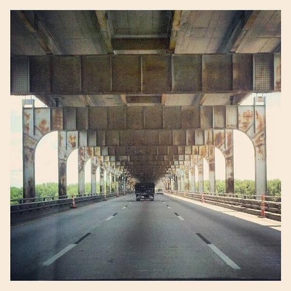 Road Photograph - Kentucky Bridge Over The #ohioriver by Melissa Wyatt