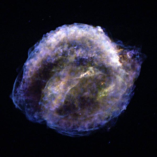 1604 Photograph - Kepler Supernova Remnant, Chandra Image by Nasacxcncsus. Reynolds
