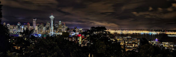 Wall Art - Photograph - Kerry Park Night View by James Heckt
