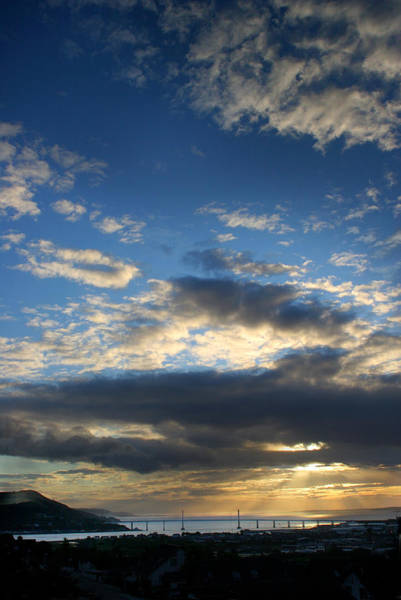Photograph - Kessock Cloudscape by Joe Macrae