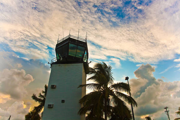 Wall Art - Photograph - Key West Airport Tower by Patrick  Flynn