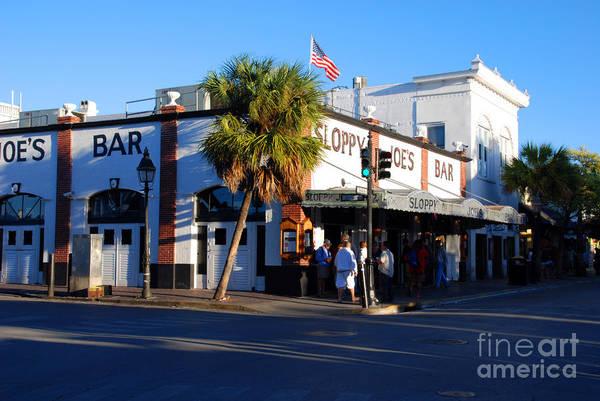Photograph - Key West Bar Sloppy Joes by Susanne Van Hulst