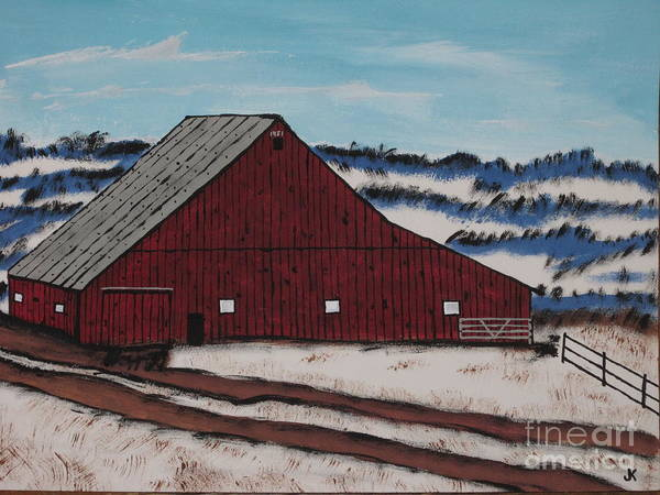 Wall Art - Painting - Keystone Farm by Jeffrey Koss
