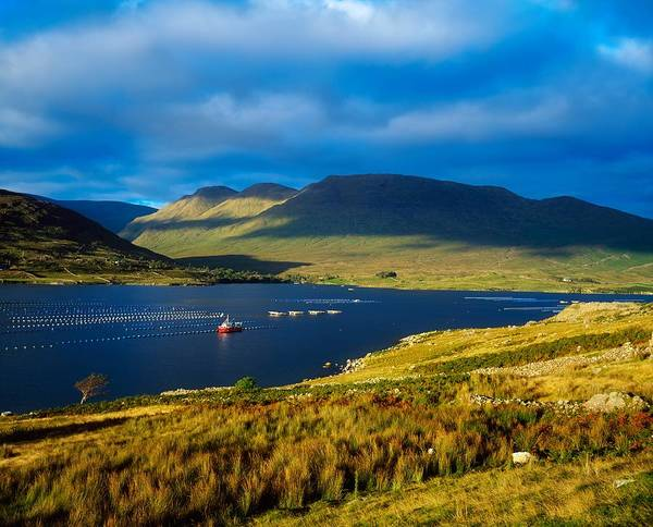 Horizontally Photograph - Killary Harbour, Co Galway, Ireland by The Irish Image Collection