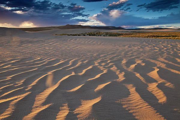 Killpecker Dunes At Sunset Art Print
