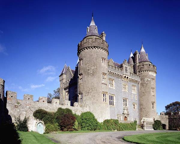 Horizontally Photograph - Killyleagh Castle, Co. Down, Ireland by The Irish Image Collection