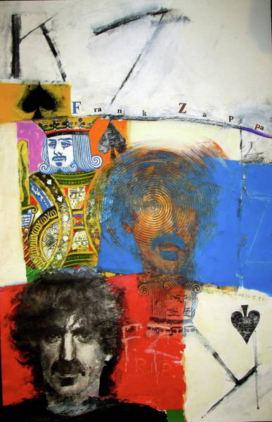 Transfer Mixed Media - King Of Spades 48-52 by Cliff Spohn