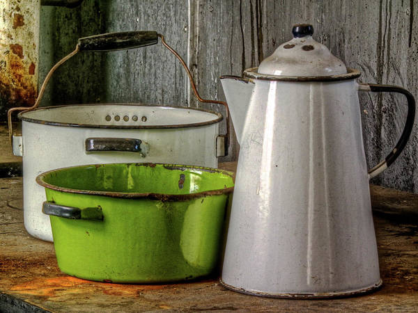 Photograph - Kitchen Gear by Colette Panaioti