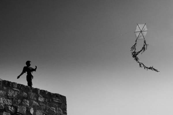 Kites Photograph - Kite-2 by Okan YILMAZ