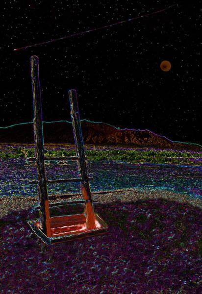 Anasazi Painting - Kiva Night by David Lee Thompson